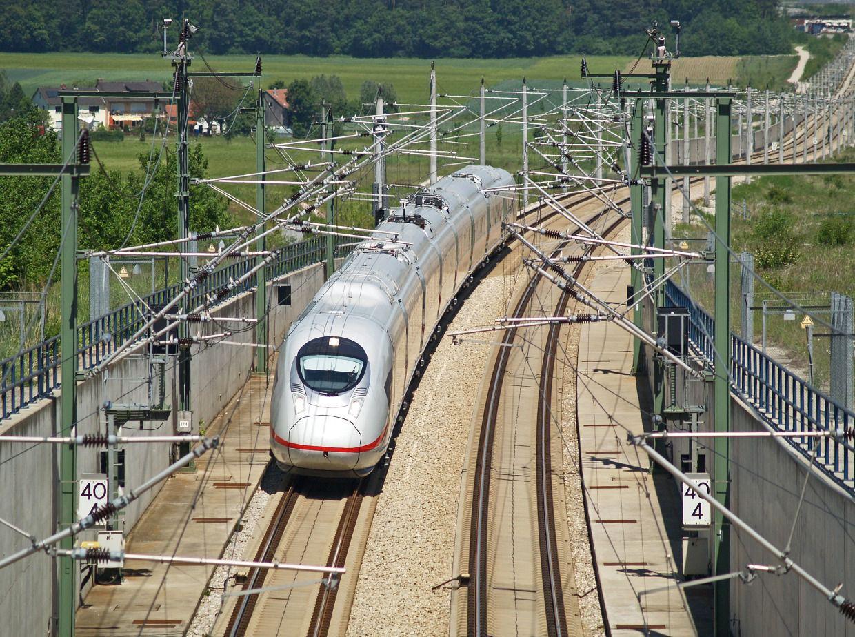 SFS bei Ingolstadt mit ICE 3 Baureihe 407