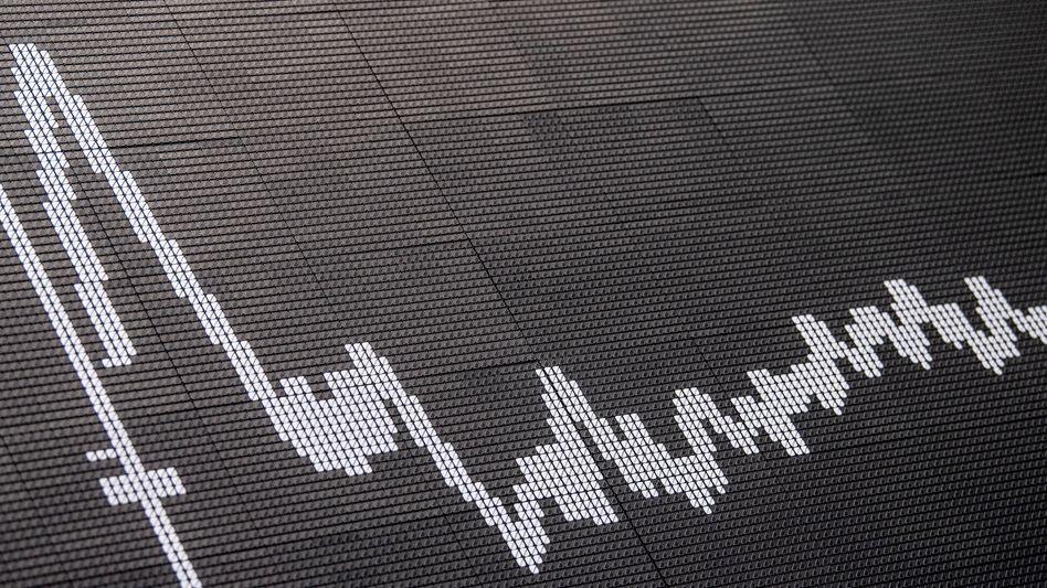 Dax-Chart in Frankfurt: Der Dax ist verhalten in die Woche gestartet