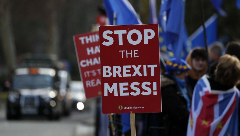 Schluss mit dem Brexit-Chaos