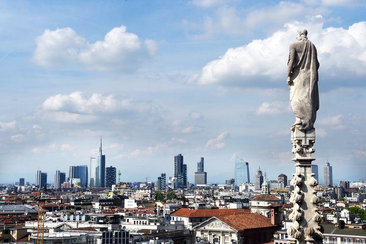 Mailänder Bankenviertel: Das neue, alte Krisenzentrum Europas