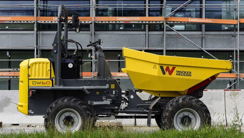 Lenkrad verwaist: Bei Wacker Neuson verabschiedet sich die halbe Führungscrew
