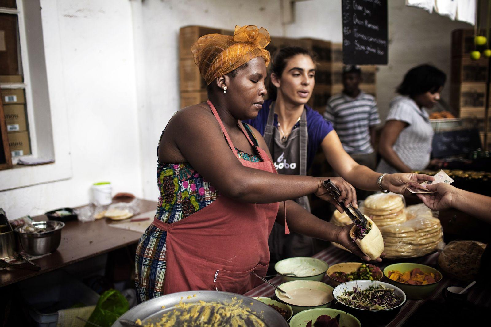 Markt / Kapstadt / Südafrika / Woodstock
