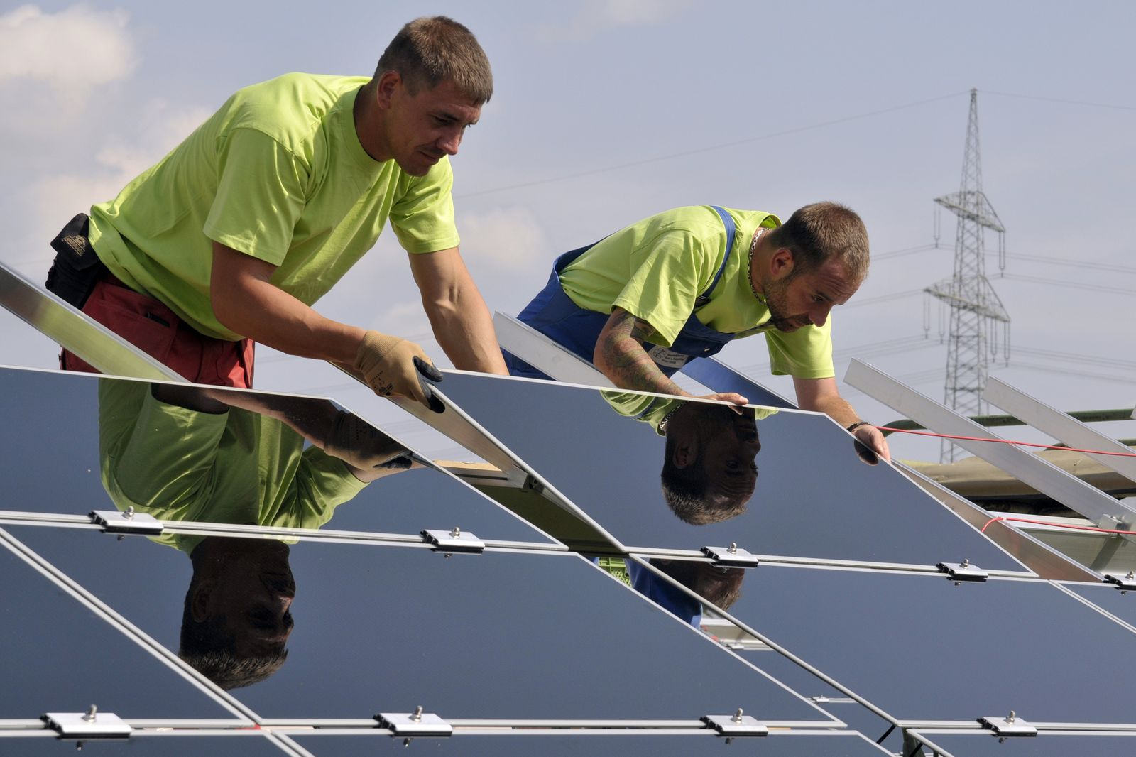 Photovolatik-Park Aichach+ / Solarenergie / Solaranlage / Sonnenenergie