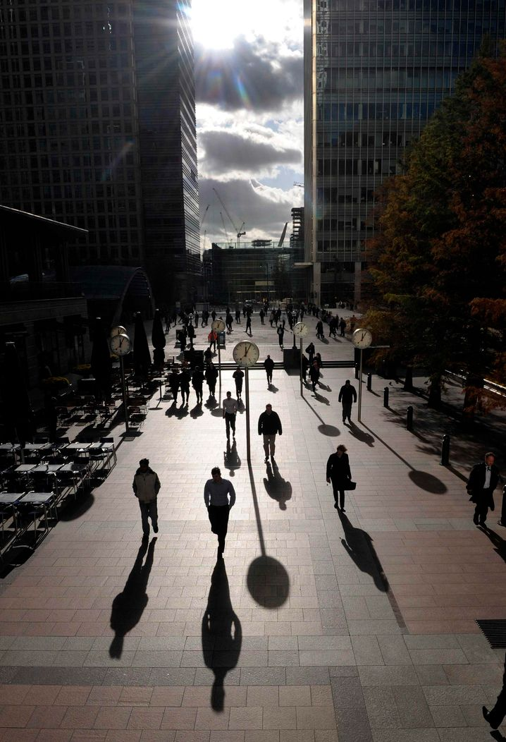 Canary Wharf: Unter anderem dort schlägt das Herz der britischen Finanzindustrie