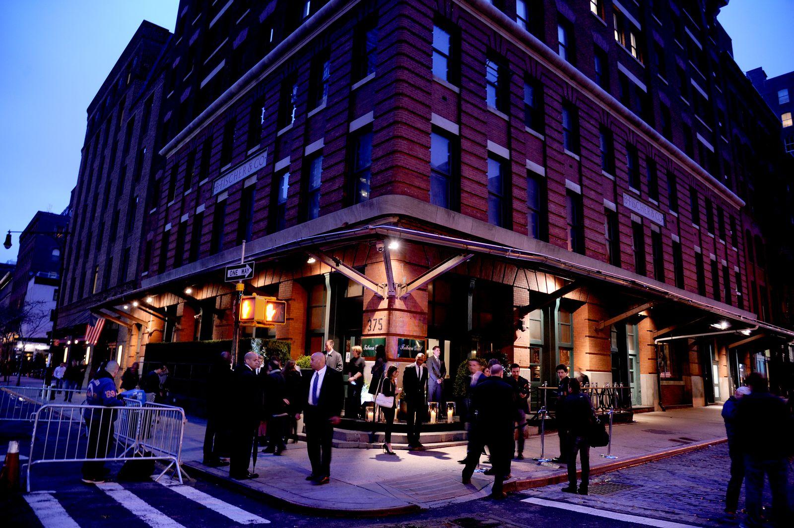"Robert de Niro: ""Tribeca Grill"", New York"