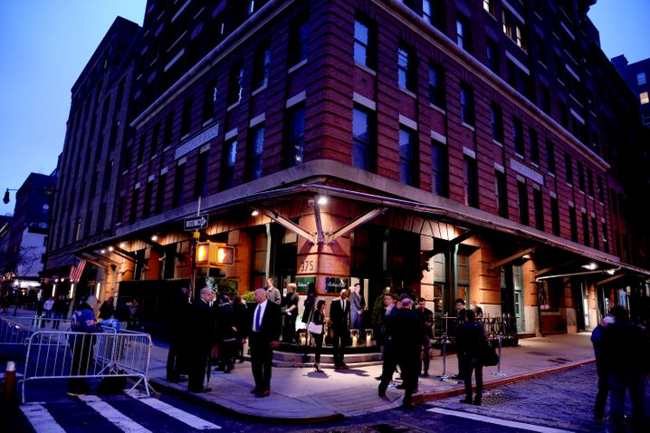 "Hot Spot in New York: Der ""Tribeca Grill"""