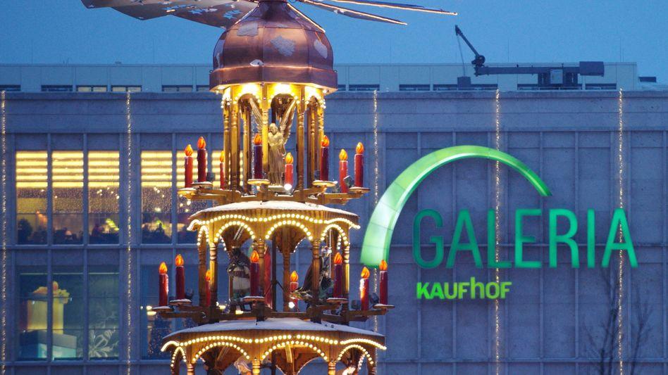 Verkauf nicht vor Weihnachten: Kaufhof-Filiale in Berlin