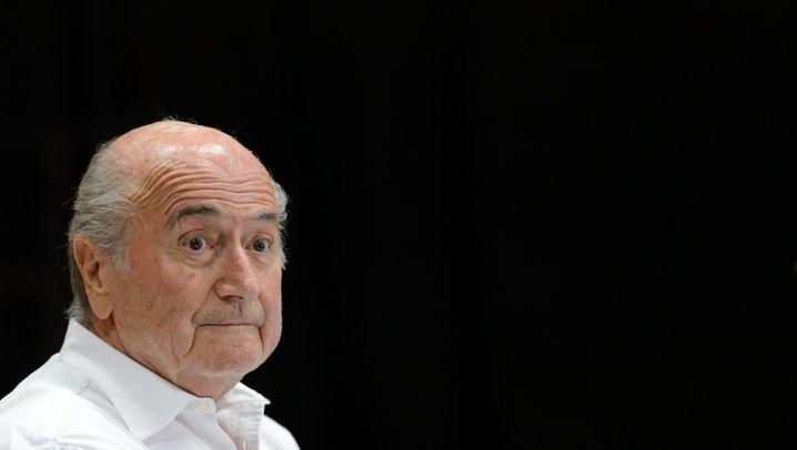 Wer wird der neue Blatter?: Da waren es nur noch sieben