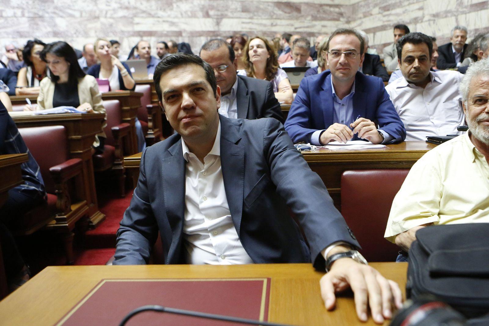 Griechenland/ Finanzkrise/ Tsipras