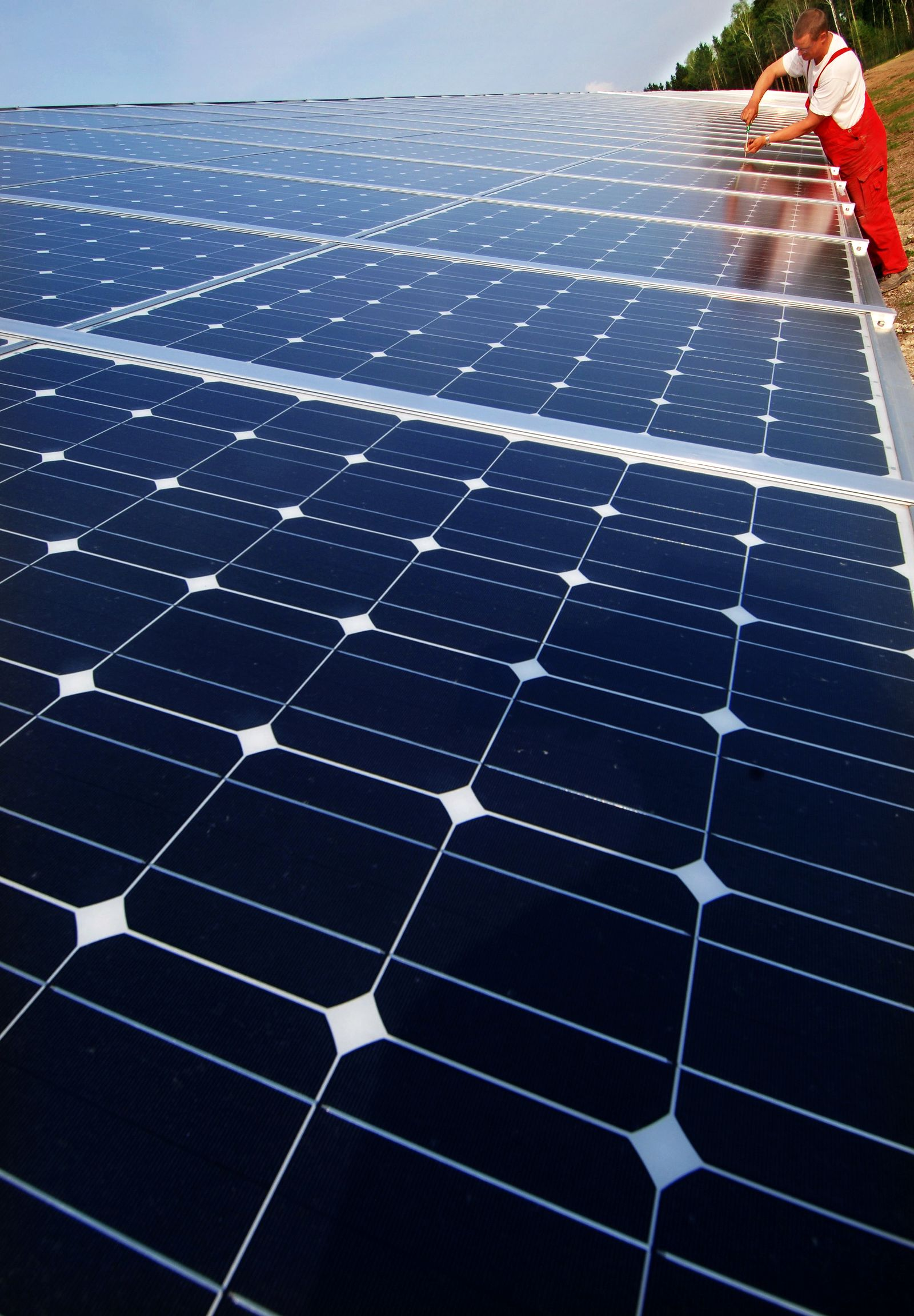Solar-Energie / Solarkraftwerk / Deutschland