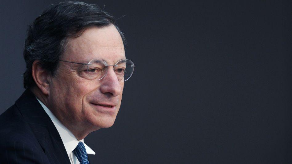 Mario Draghi: Der EZB-Präsident senkt den Leitzins vorerst nicht