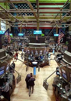 Business as usual: Die Wall Street hatte dank ihrer Notpläne fast keine Probleme und handelte normal weiter