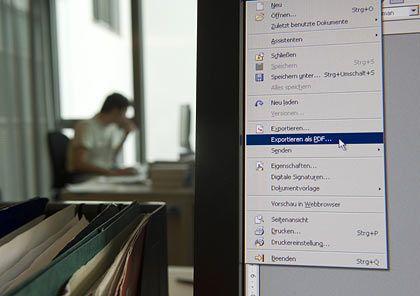 Veränderungen unerwünscht: Zum Weitergeben digitaler Dokumente bietet sich das PDF-Format an