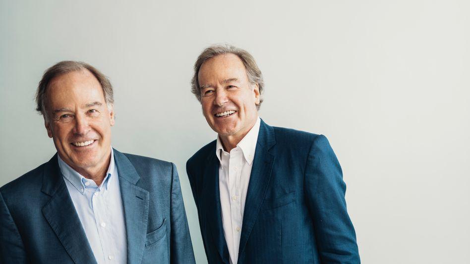 """""""Eins und eins ist drei"""": Die Brüder Andreas (l.) und Thomas Strüngmann arbeiten bis heute immer zusammen – ob als Unternehmer, Investoren oder jetzt bei der Weitergabe ihres Vermögens"""