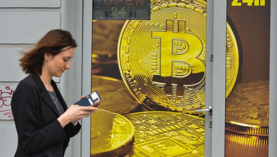 Bitcoin Kursrally: Extreme Schwankungen der Cyberwährung