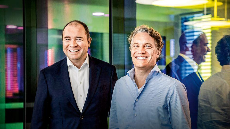 Zwei wie Tech und Schwefel: Die Boy-Group aus Ralph Dommermuth (l.) und Oliver Samwer.
