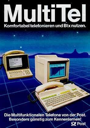 Vorläufer des Internets: Btx-Terminal