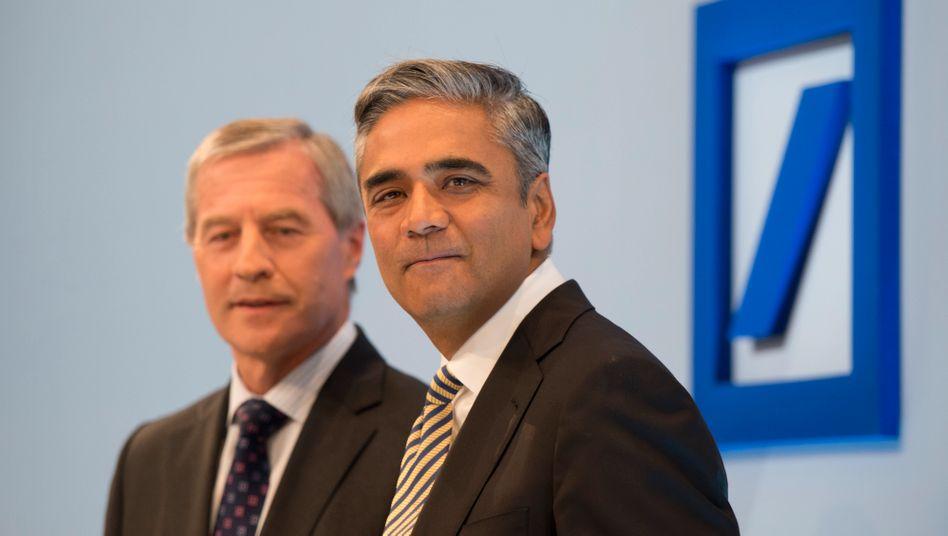"""Deutsche-Bank-Chefs Fitschen und Jain: """"Vorreiter des Kulturwandels"""""""
