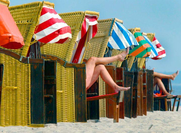Geben Sie Ihrem Gegenüber gute Wünsche mit auf den Weg - etwa für einen anstehenden Urlaub