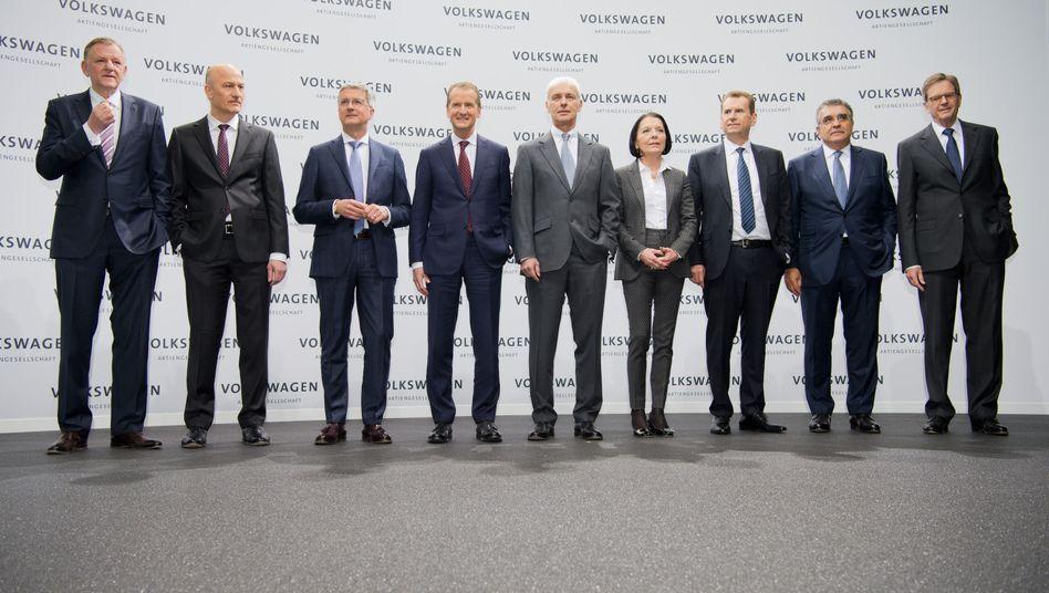 Vorstand der Volkswagen AG: Ein Finanzaktivist will, dass VWs Managerboni nur aus Aktien bestehen