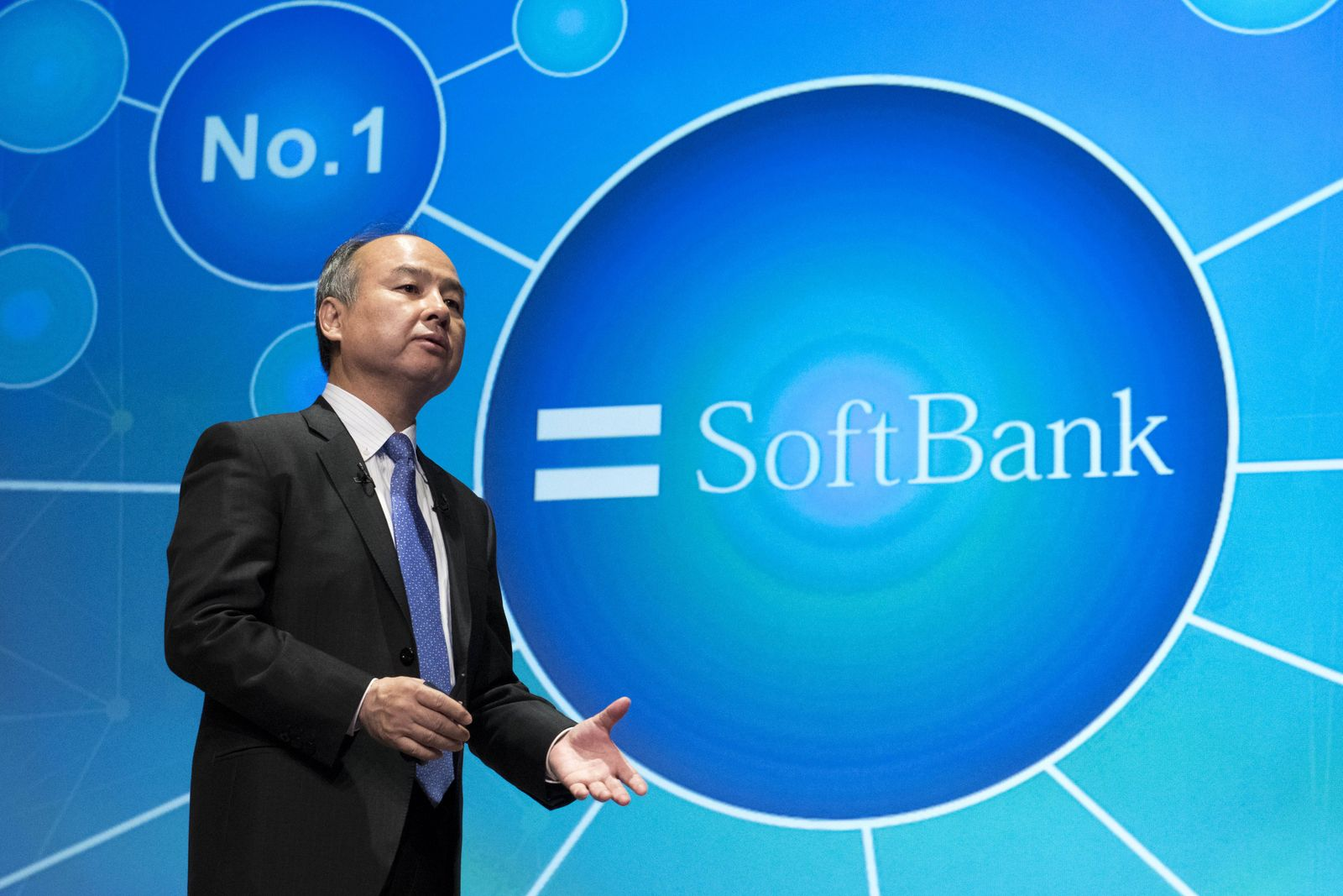 November 5 2018 Tokyo Tokyo Japan SoftBank Group Corp Chairman and CEO Masayoshi Son attends