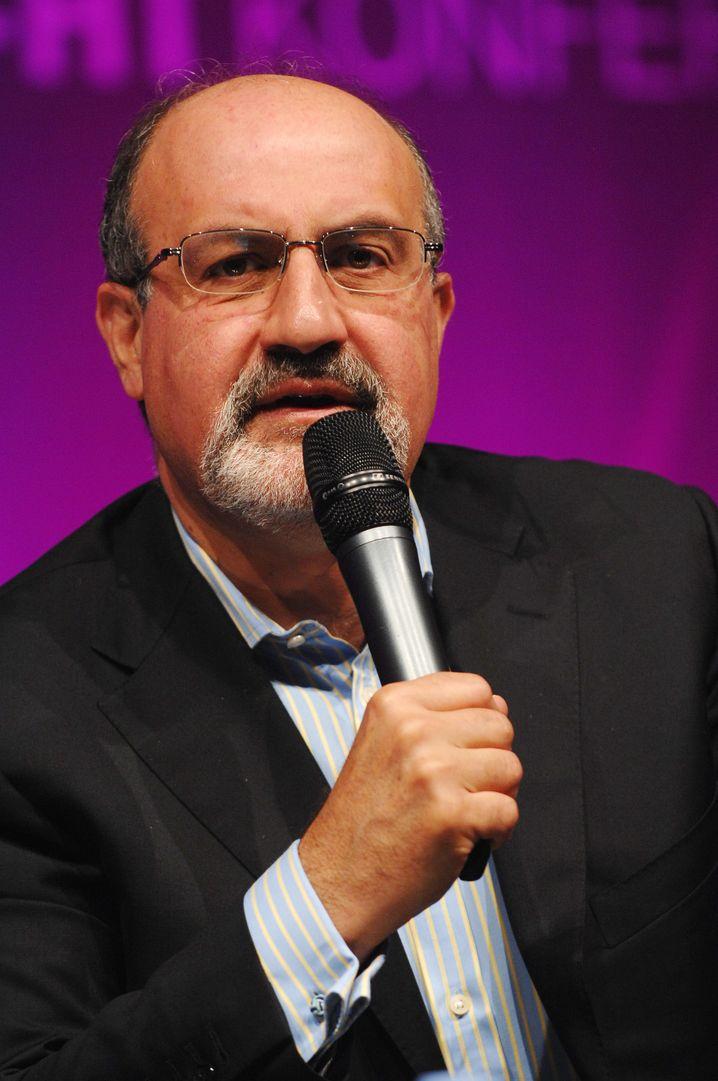 Nassim Nicholas Taleb: Wütet gegen Banker - und auch Journalisten