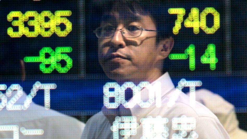 Börse in Tokio: Am Montag soll gehandelt werden - Börsianer erwarten einen weiteren Kursrutsch