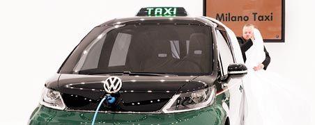 Elektro-Taxi von Volkswagen: In der Branche steckt viel Wachstumspotenzial - aber welche Unternehmen machen das Rennen?