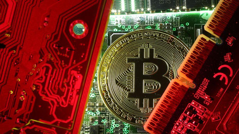 Bitcoin-Illustration