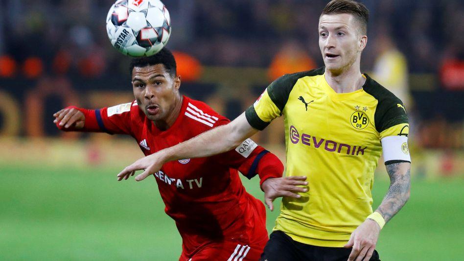 Bayern gegen Dortmund: Die TV-Einnahmen und Umstäze der Liga sind stark gestiegen. 2020 will diedie DFL die Rechte neu vergeben