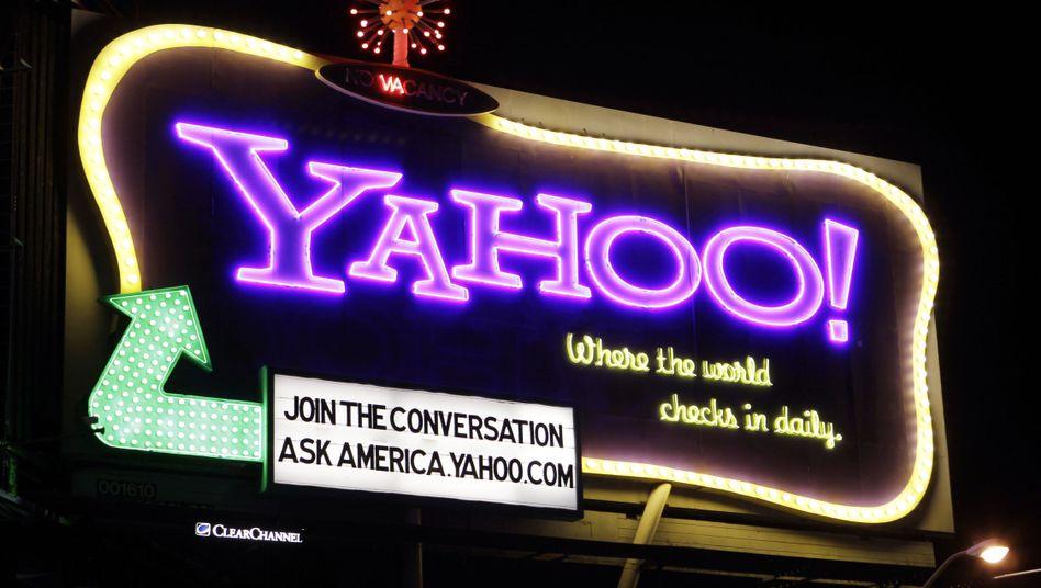 Verblasster Glanz: Yahoo meldet fast ein Viertel weniger Umsatz