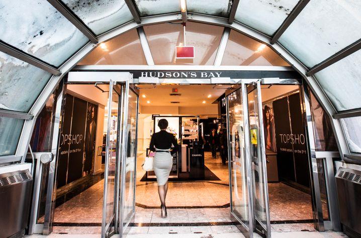 Hudson's Bay Flagship-Store in Toronto: Hier soll demnächst auch ein Saks-Fifth-Avenue-Laden aufmachen