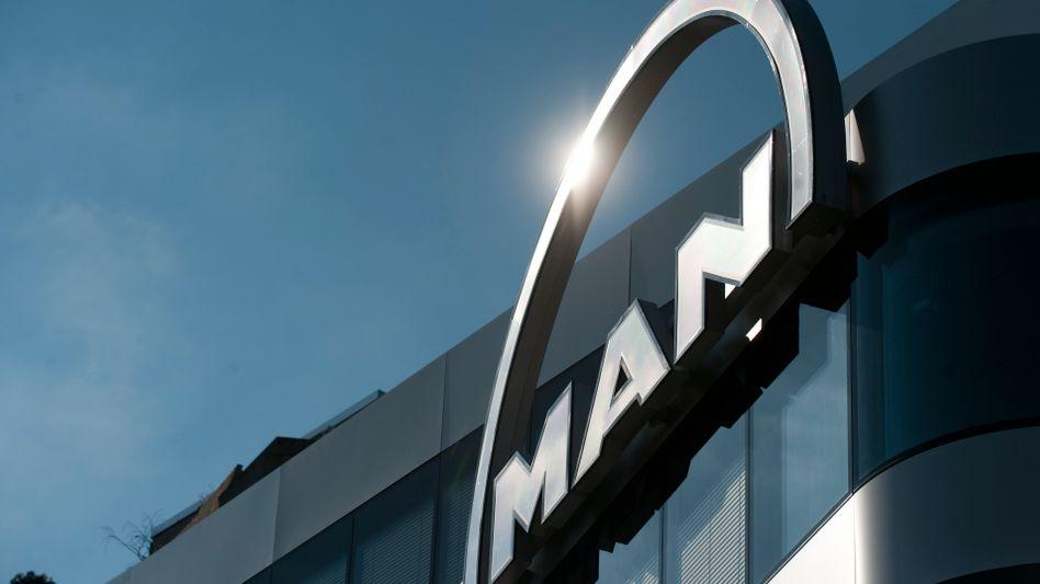 MAN-Logo: EU sieht noch ausreichend starke Konkurrenten auf dem Markt