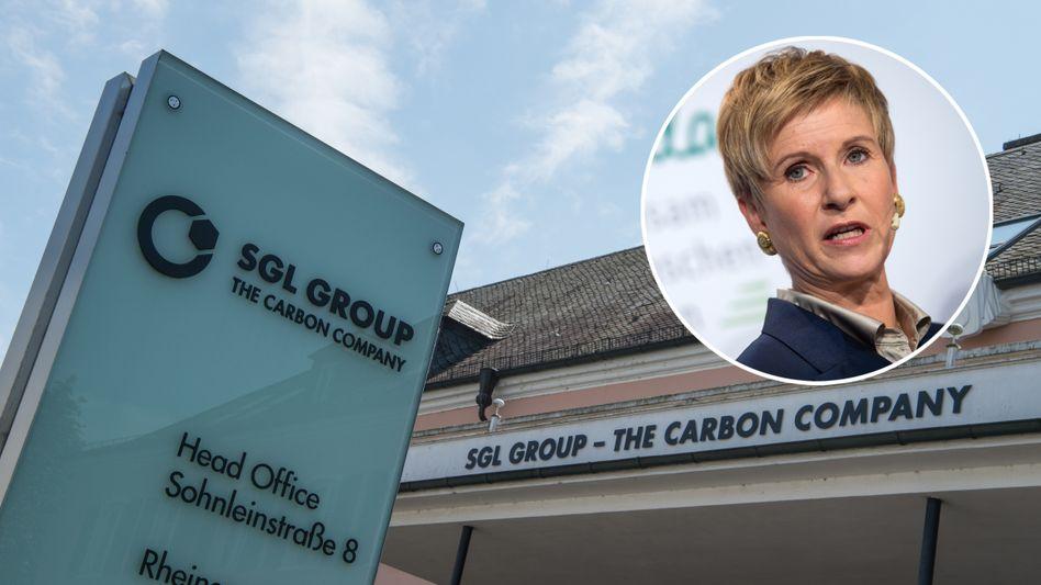 Hauptverwaltung der SGL Group, Susanne Klatten