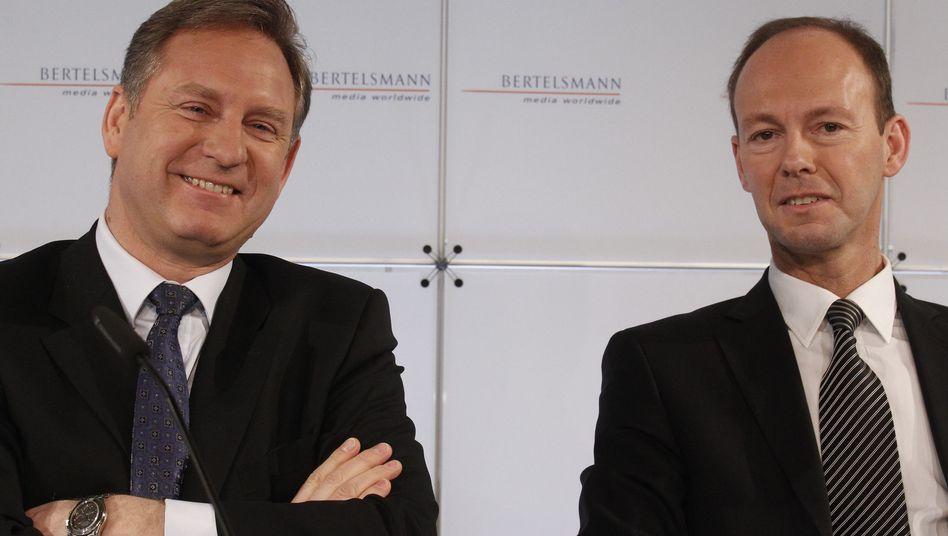 Thomas Rabe: Präsentiert im März seine erste Bilanz als Bertelsmann-Chef