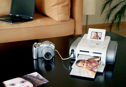 Papier und Treibertuning: Bis Fotos brillant aus dem Drucker kommen, ist unter Umständen einiges an Tüftelei nötig