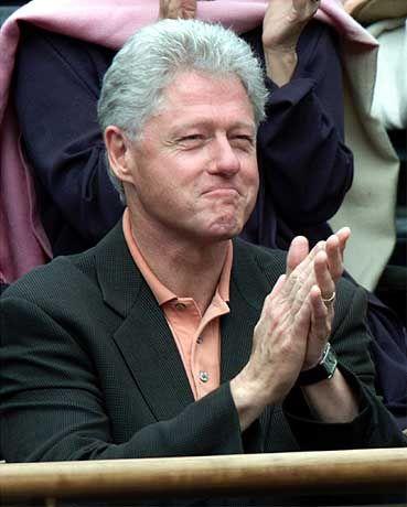 Ein neuer Stern am TV-Himmel: Ex-US-Präsident Bill Clinton