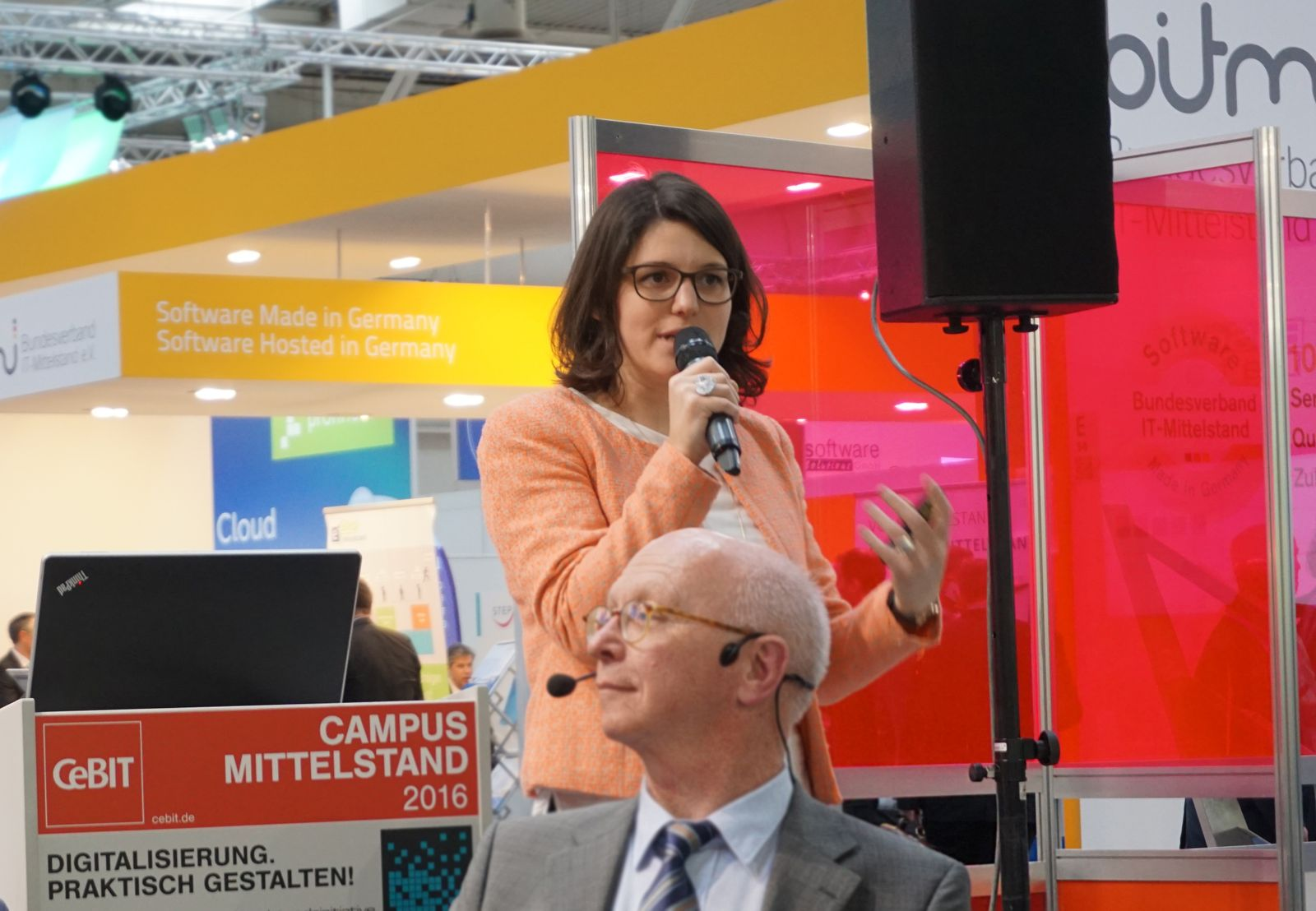 Cebit 2016 - Julia Kasper