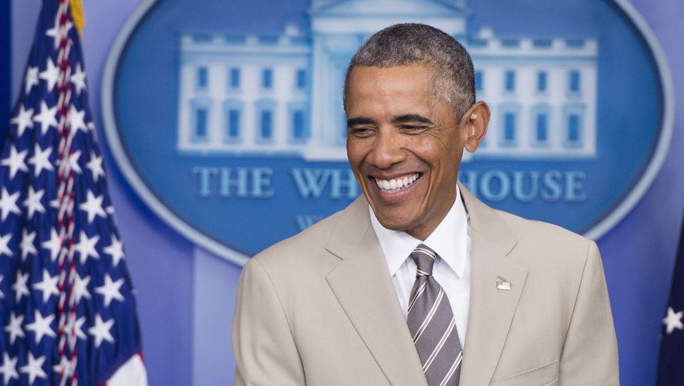 Barack Obama: Der Anzug des Grauens