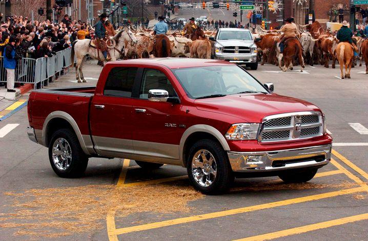 Dodge Ram: Die Absatzzahlen der Pickup-Marke legte im ersten Halbjahr 2014 um 14 Prozent zu