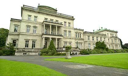 Villa Hügel in Essen: Viel Platz für Finanzminister und Notenbankchefs