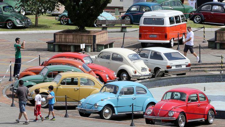 Volkswagen verliert Marktführerschaft: Die Lieblingsautos der Brasilianer
