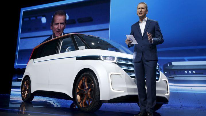 Rede von VW-Chef Diess auf der CES: Mehr Elektro, mehr Erlebnis - wie sich VW verändern soll