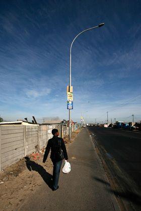 Township in Kapstadt: Anfang einer Entwicklung, die als Wendepunkt erscheinen kann