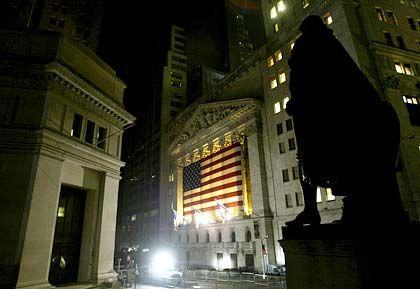Blackout: New York Börse mit Hilfsbeleuchtung