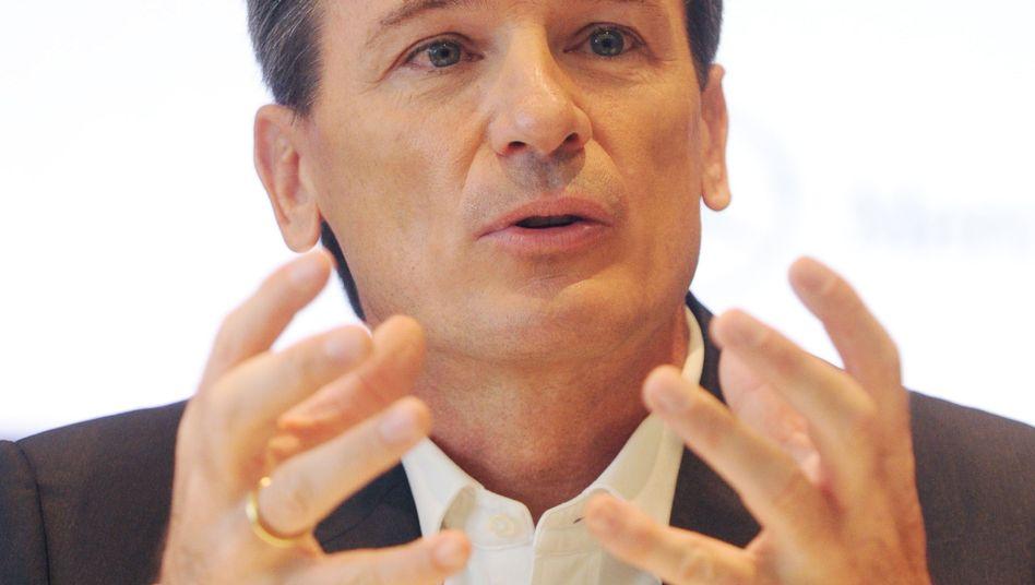 Ansage: Wolfgang Bernhard, Lkw-Vorstand bei Daimler