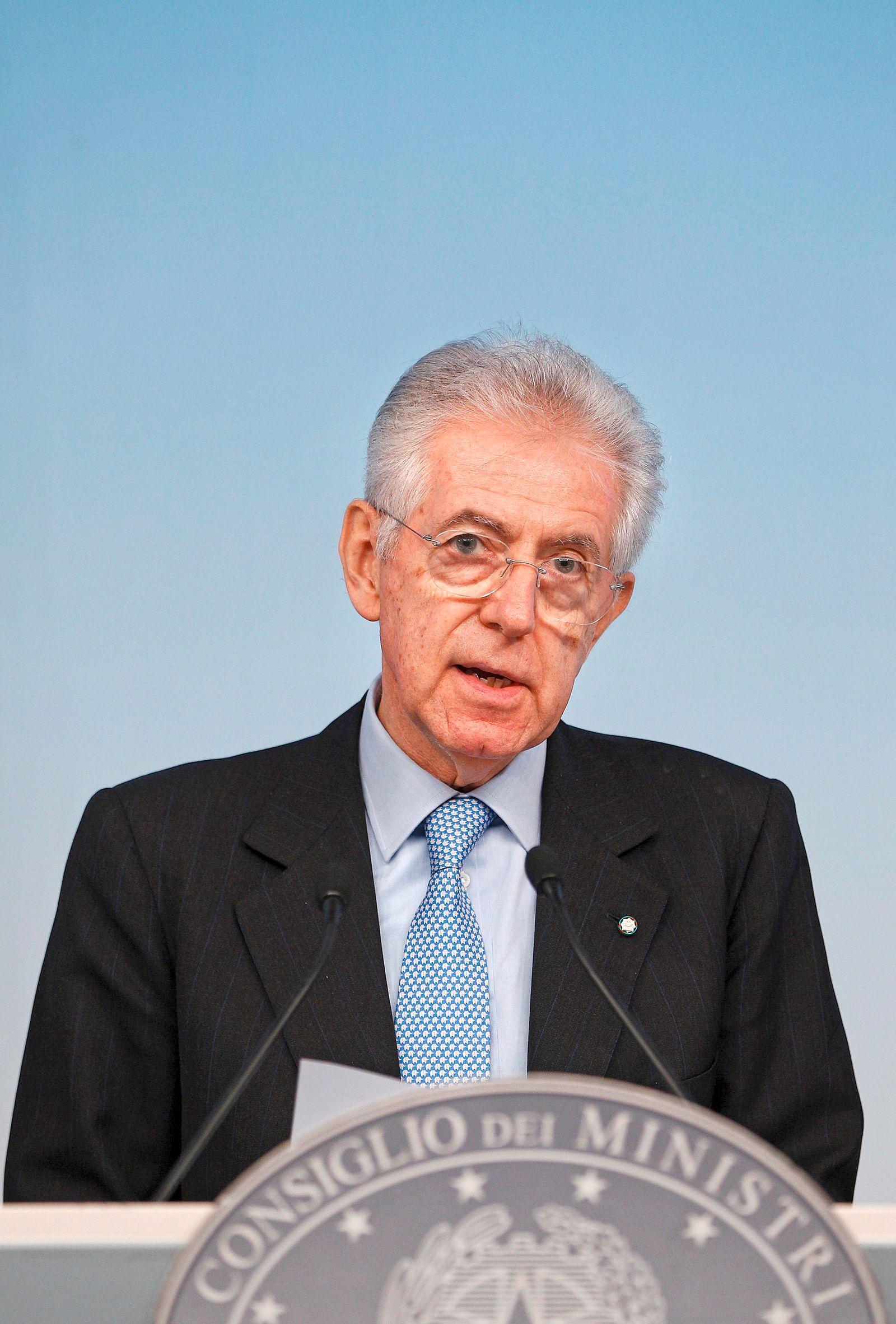 Der Spiegel 01/2012 pp 62 SPIN Monti