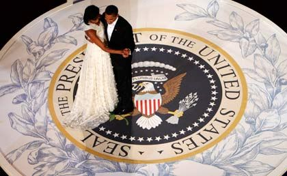 Tanz auf glattem Parkett: Ein jährliches Staatsdefizit von einer Billion Dollar und mehr könnte während Obamas Amtszeit zur Regel werden