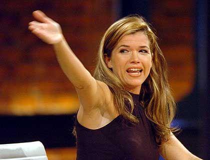 """Anke Engelke, 39, Comedian, versuchte sich in Anglistik, Romanistik und Pädagogik in Köln. Das Experiment endete wie ihre """"Late Night""""-Show: Exmatrikulation"""