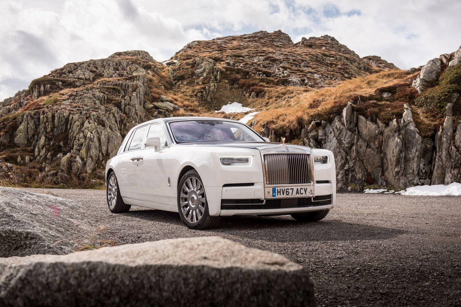 EINMALIGE VERWENDUNG Rolls-Royce Phantom VIII